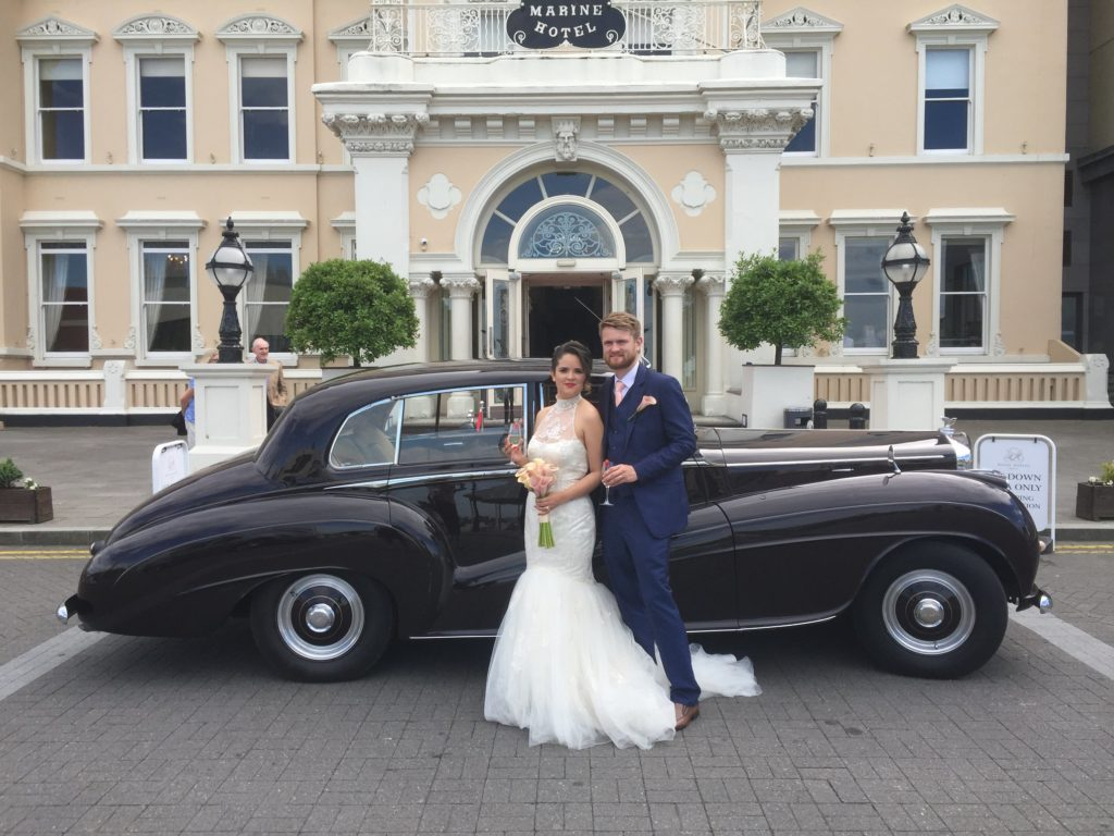 Vintage Wedding Car Hire | Dublin | Bentley Continental (1952)