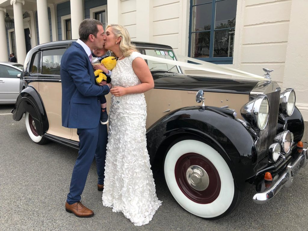 Vintage Wedding Car Hire | Dublin | Rolls-Royce Sedanca de Ville (1948)