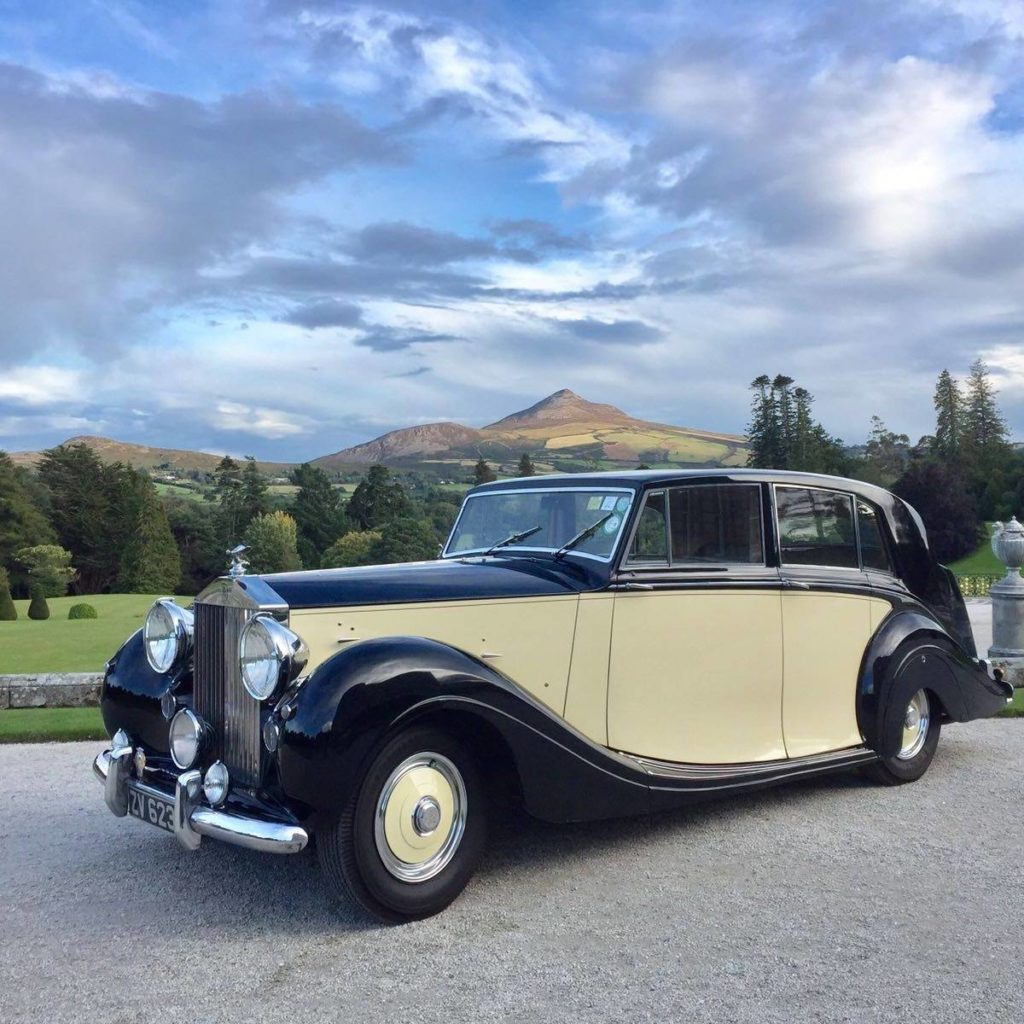 Vintage Wedding Car Hire | Dublin | Rolls-Royce Silver Wraith (1950)